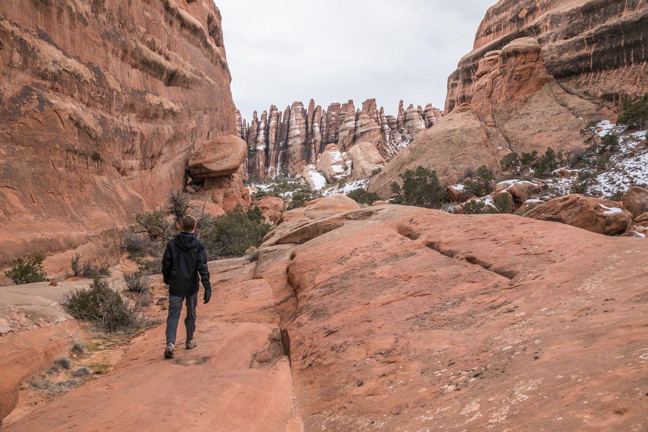 Hiking Primitive Trail