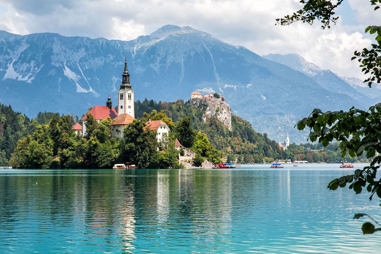Lake Bled in August