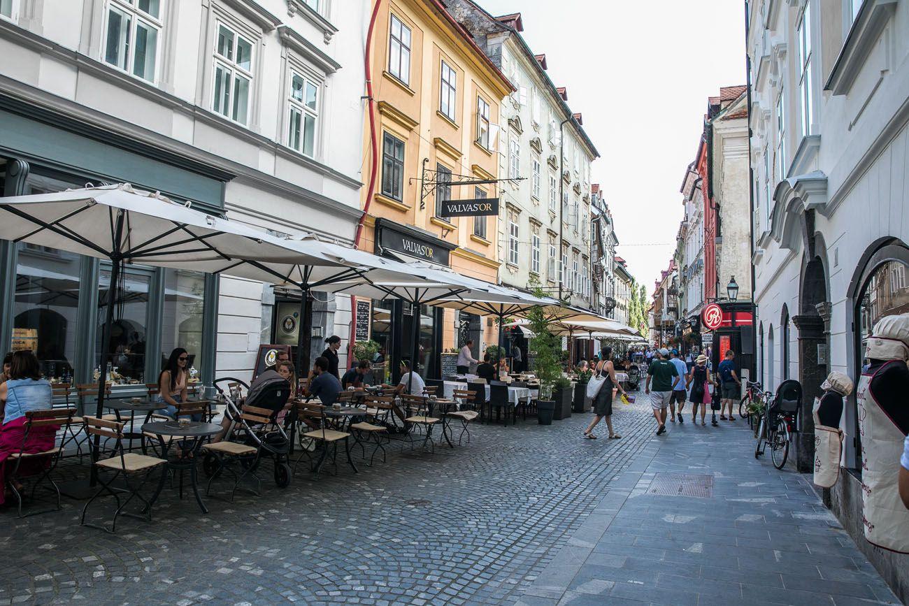 Ljubljana in Summer