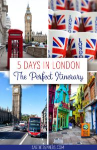 London Itinerary and Travel Guide