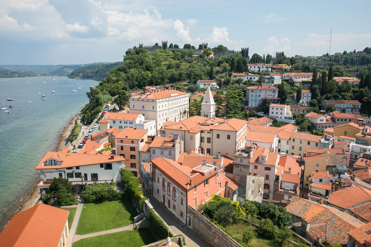 Piran Bell Tower View