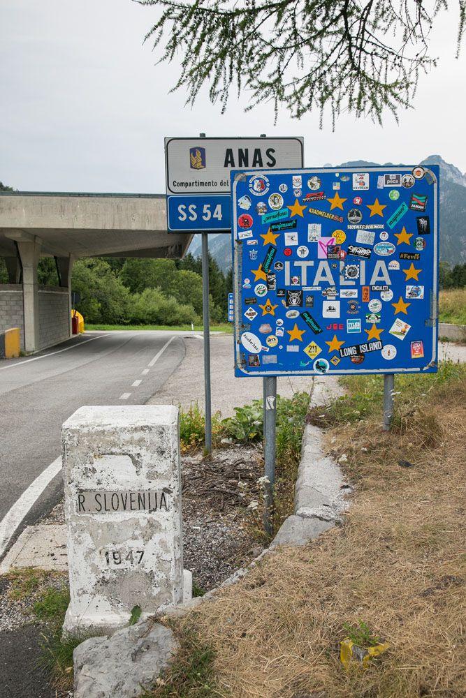 Slovenia Italy Border