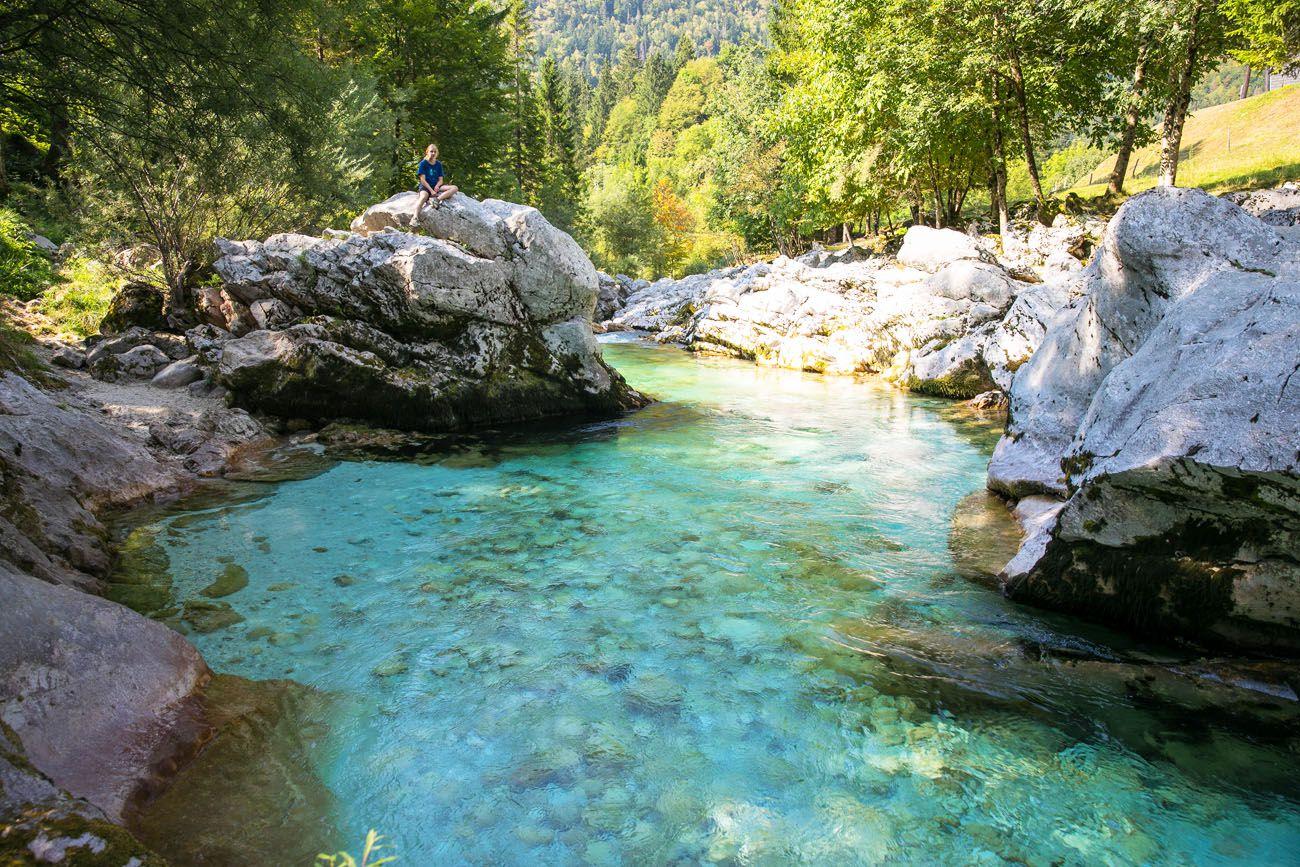 Slovenia Soca River