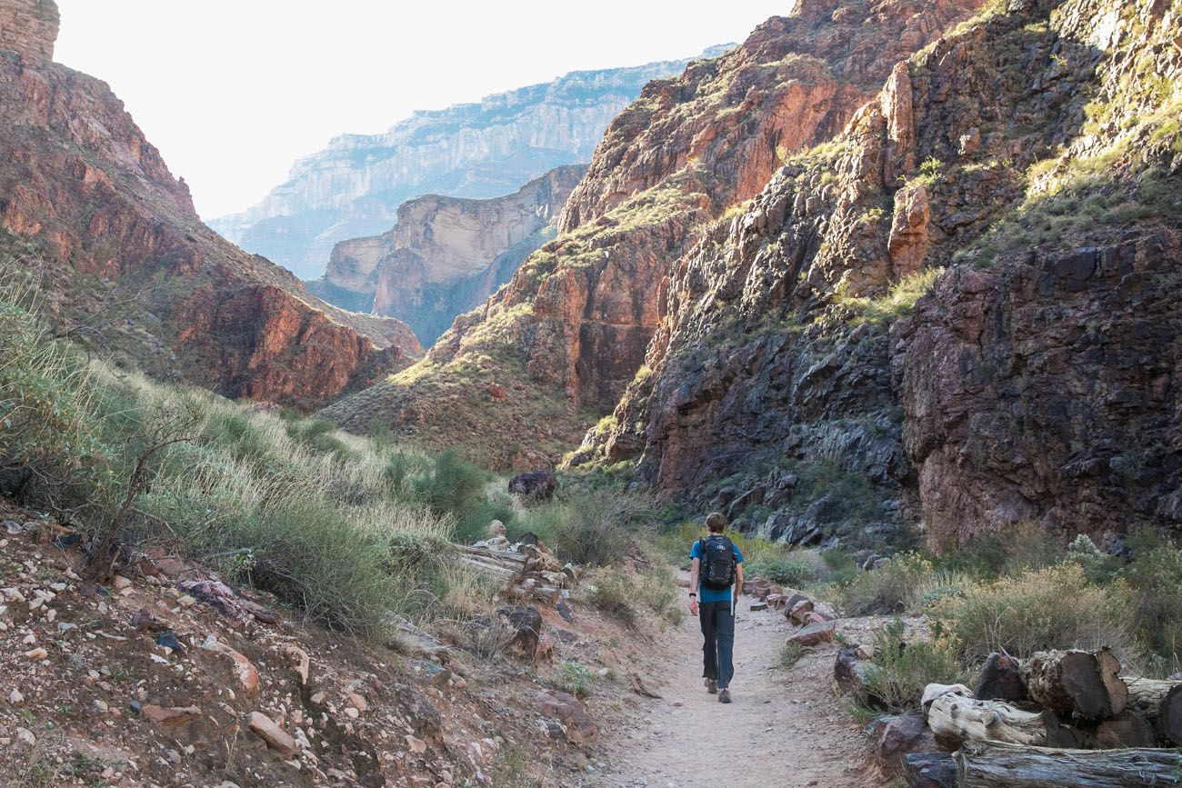 South Kaibab and Bright Angel Trails