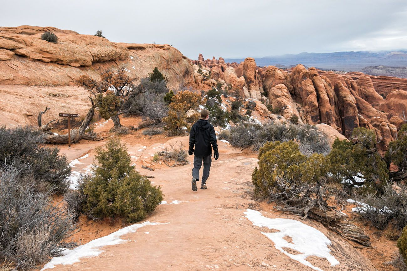 Trail to Double O Arch