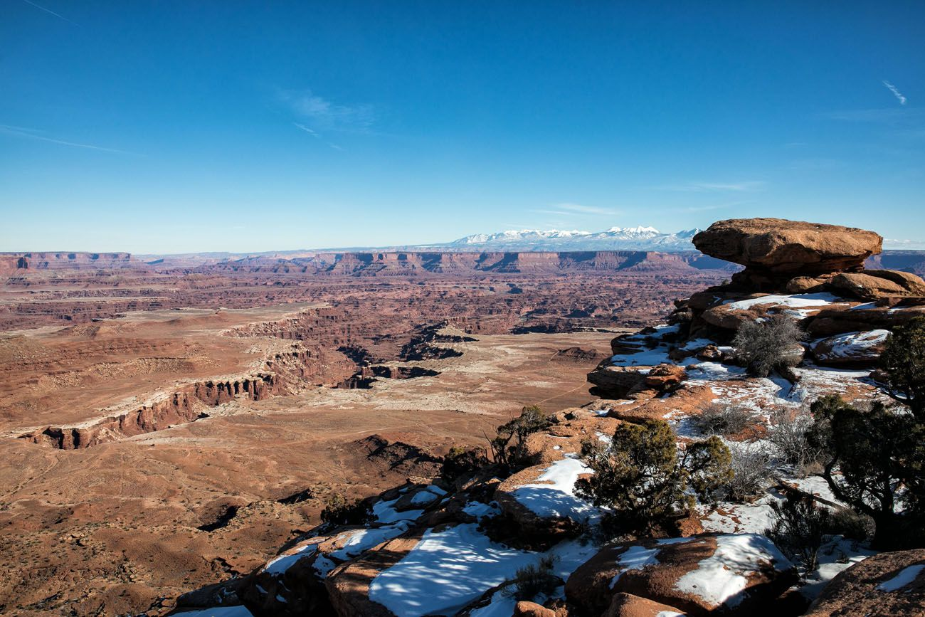 View from White Rim Hike