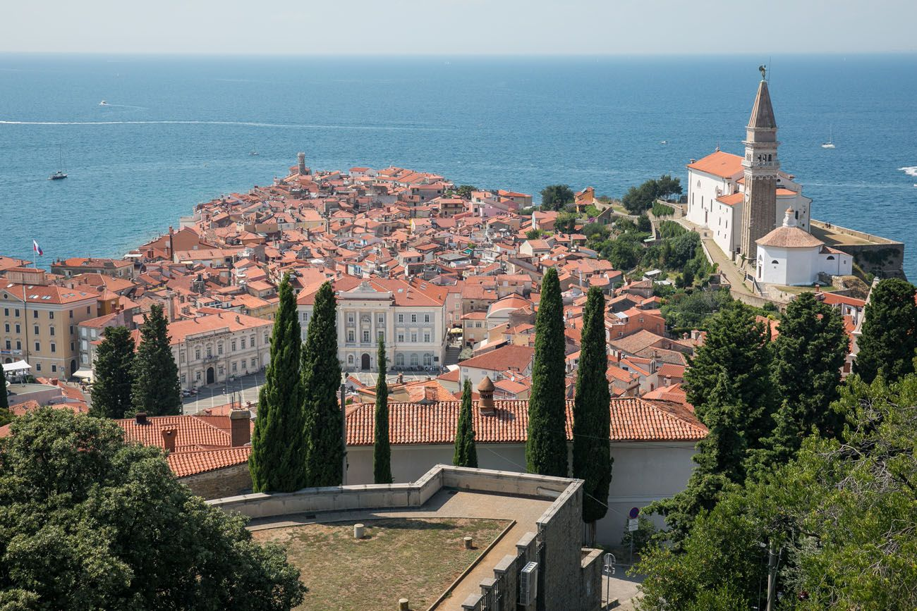 View over Piran