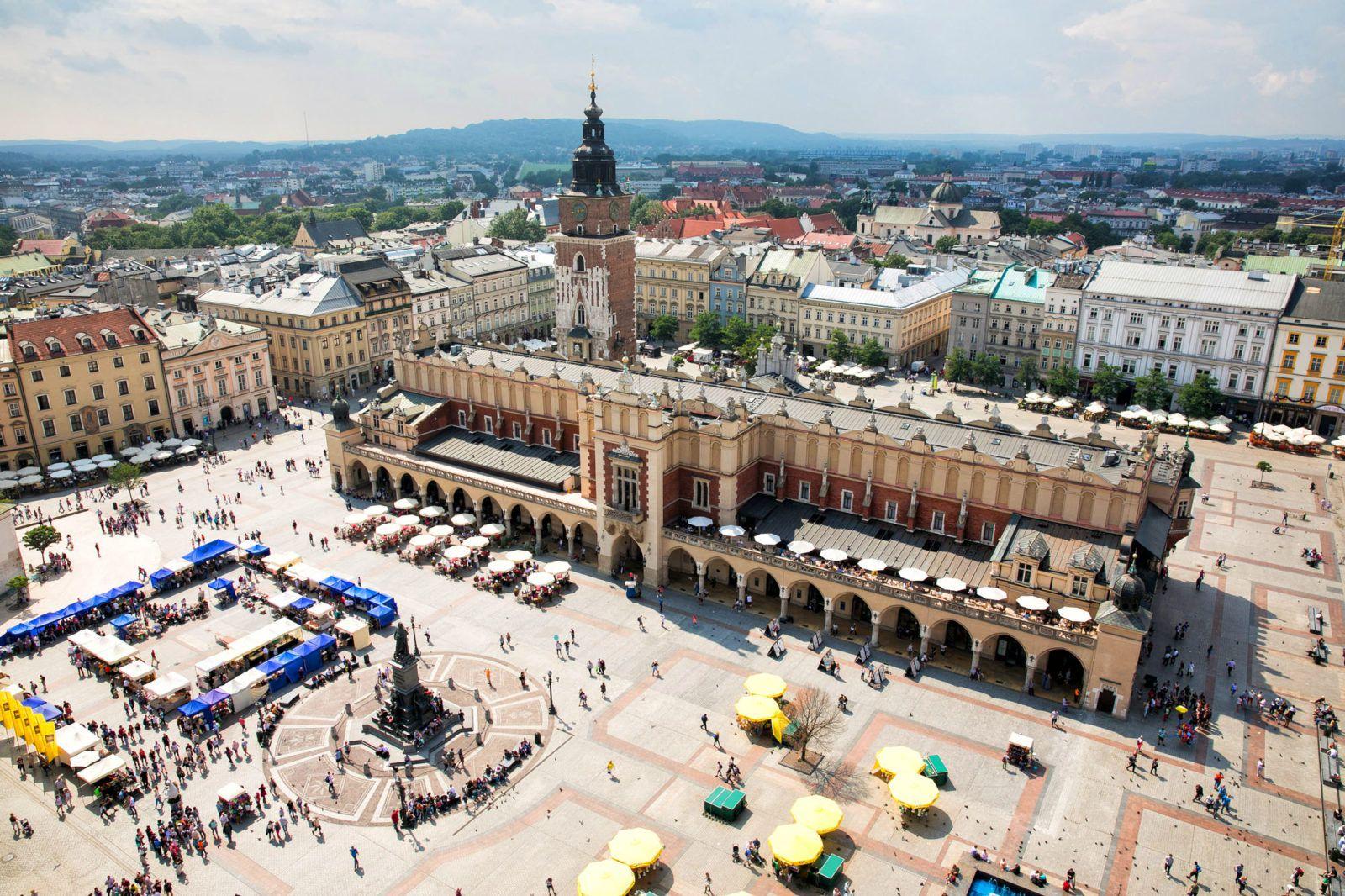 Best View of Krakow
