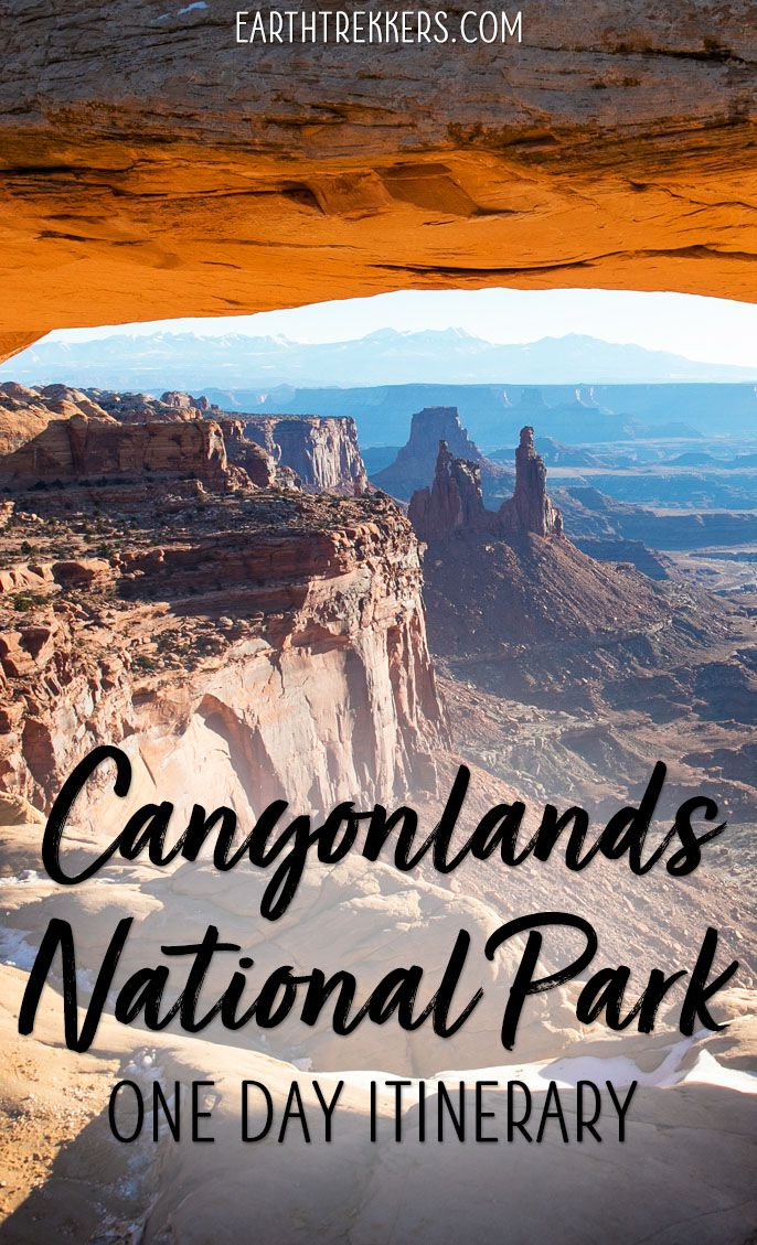 Canyonlands One Day Itinerary