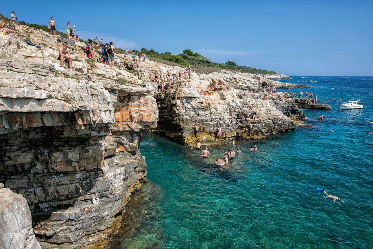 Cliff Diving Croatia