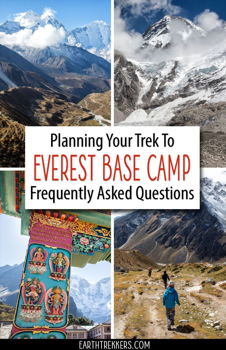 Everest Base Camp Questions