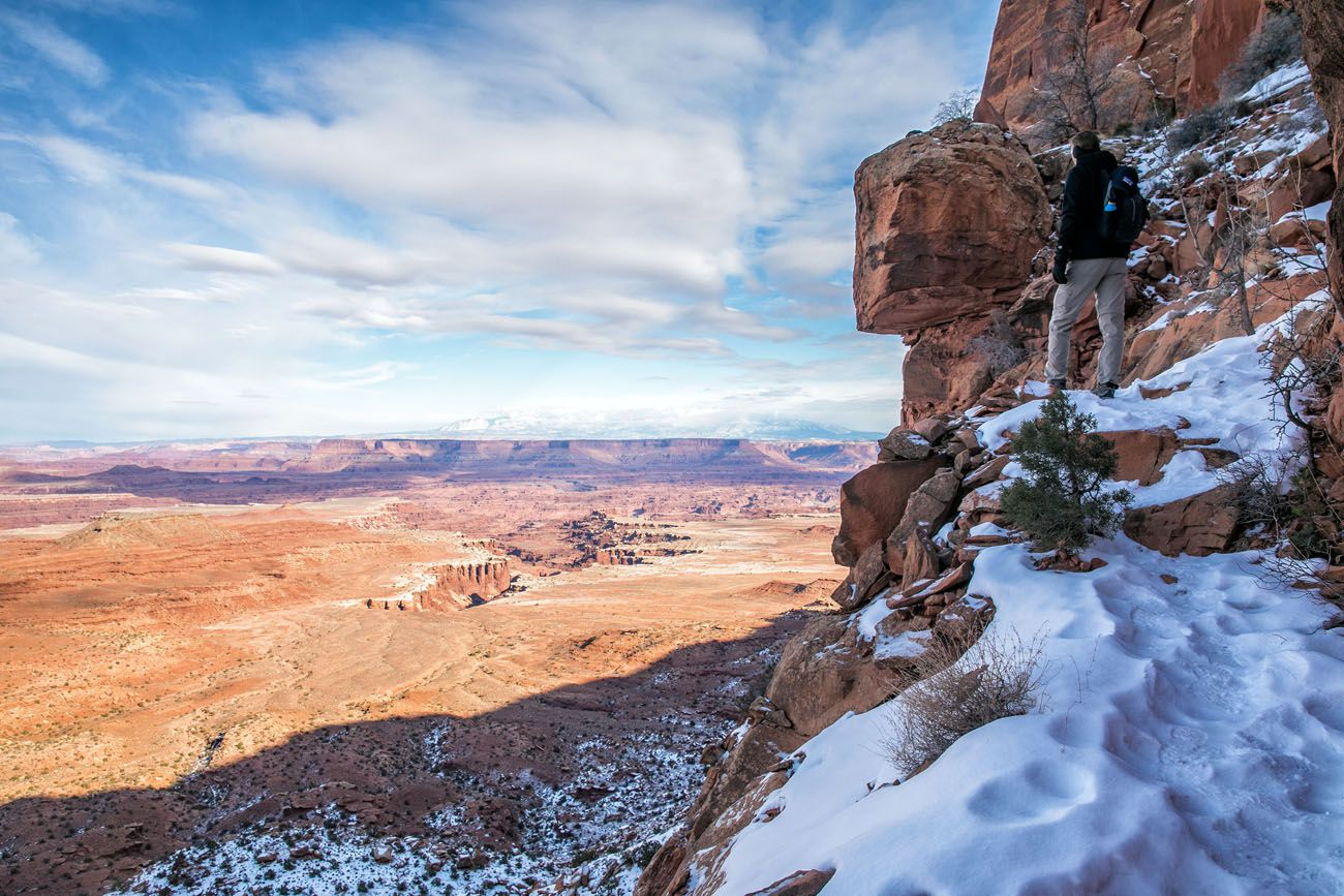 Hike Canyonlands in Winter