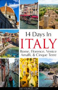 Two Weeks in Italy Itinerary and Travel Guide