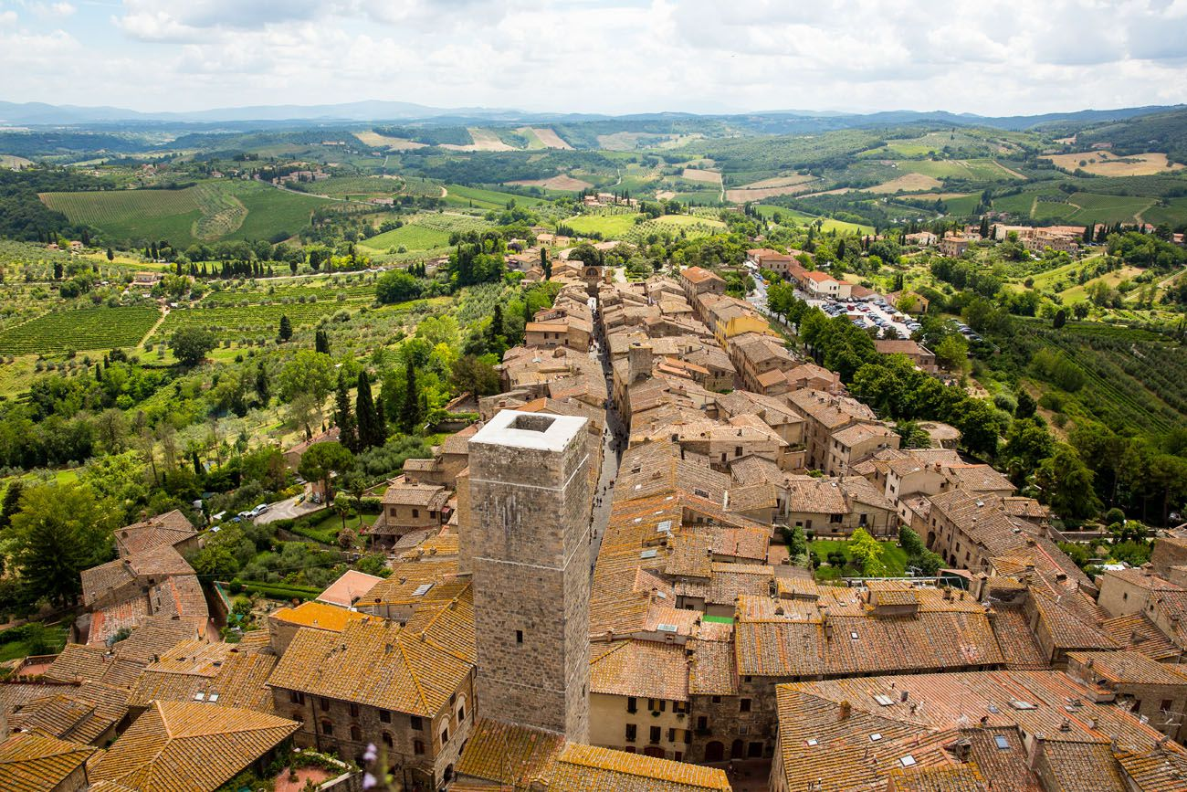 Italy Itinerary with Tuscany
