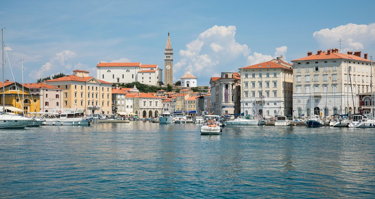 Piran Istria itinerary