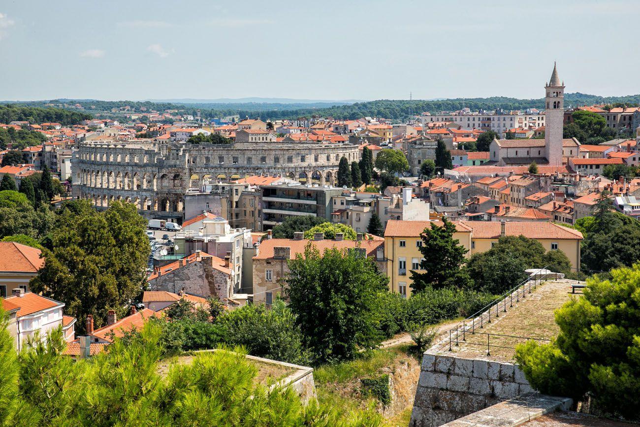 Pula Istria itinerary