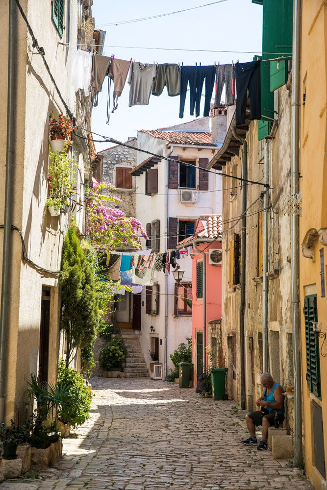 Rovinj Street Istria itinerary