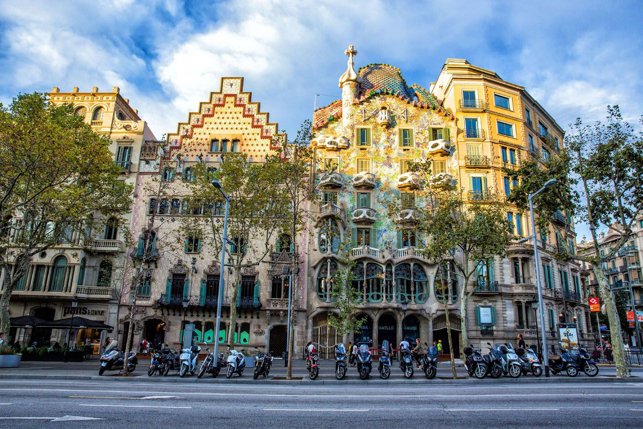 Casa Amatller 3 days in Barcelona itinerary