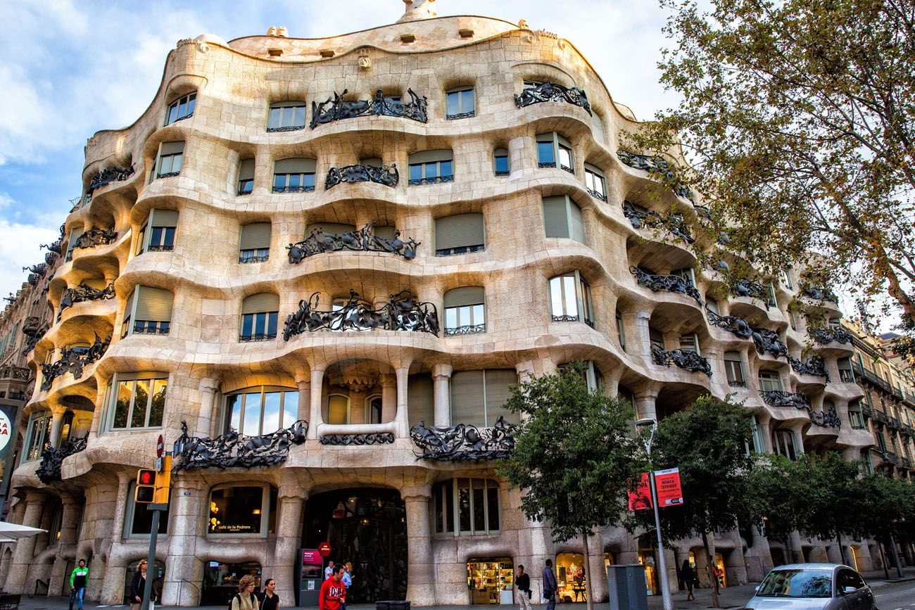 Casa Mila La Pedrera 3 days in Barcelona itinerary