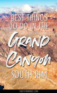 Grand Canyon South Rim Travel Guide