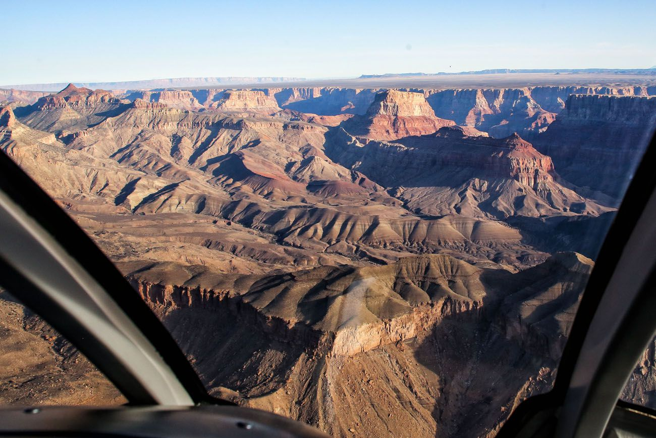 Helicopter View Grand Canyon