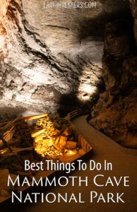 Mammoth Cave Kentucky