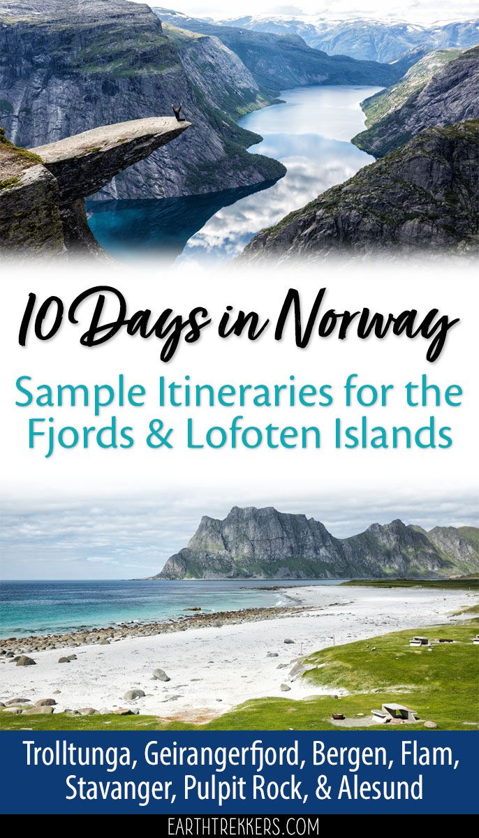Norway Itinerary with Lofoten Islands