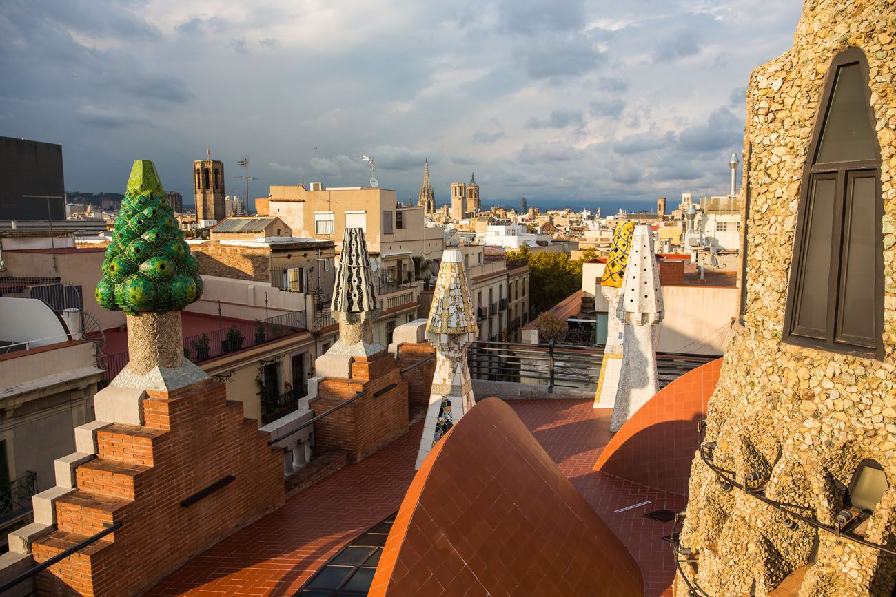 Palau Guell Roof