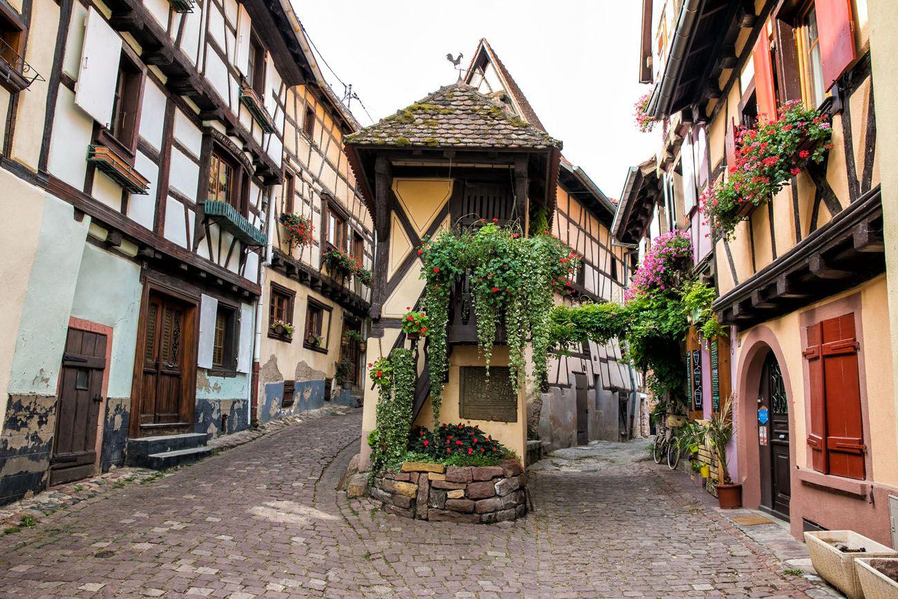 Photographing Eguisheim