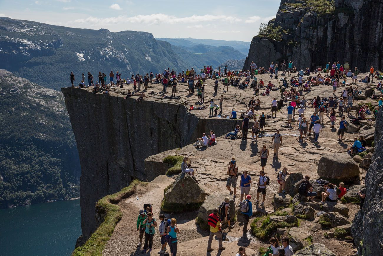 Pulpit Rock in August