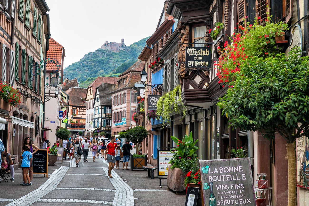 Ribeauville-Alsace.jpg.optimal ▷ 3 días en la ruta del vino de Alsacia