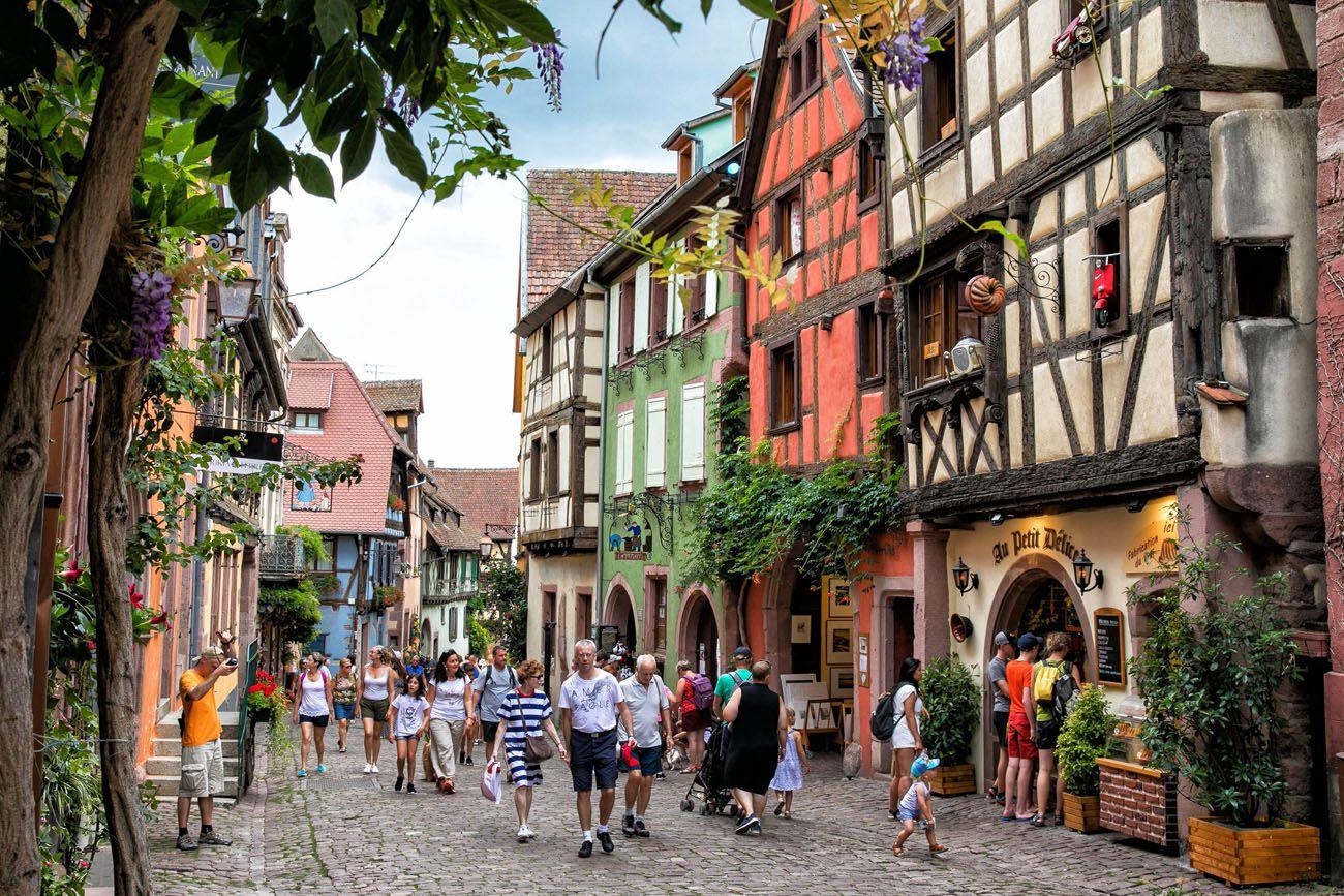 Riquewihr.jpg.optimal ▷ 3 días en la ruta del vino de Alsacia