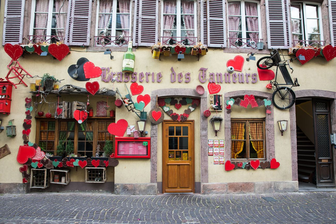 Storefront in Colmar