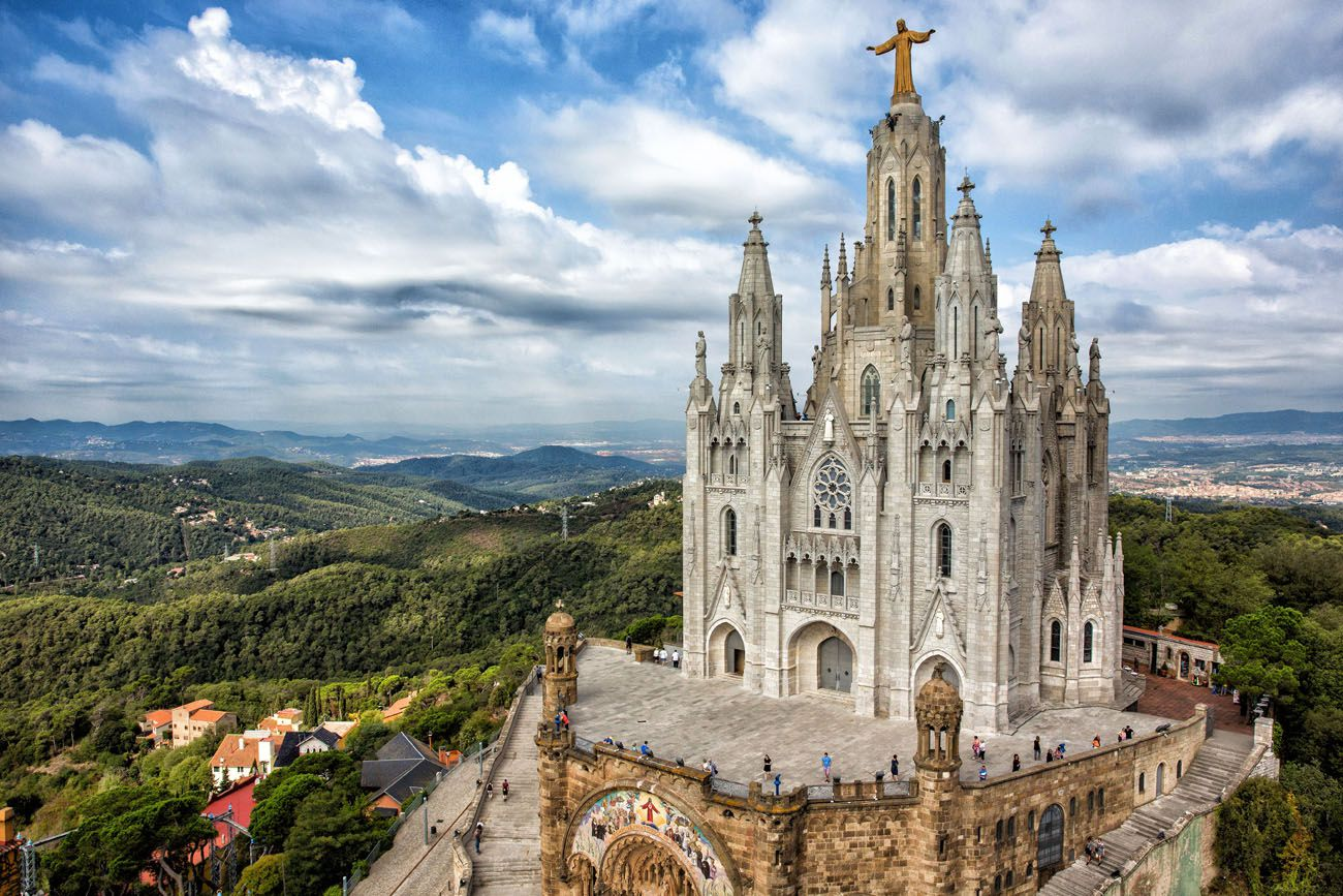 Tibidabo and Sagrat Cor