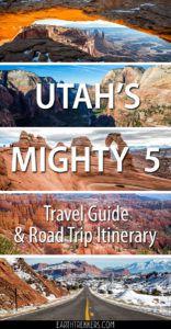 Utah Mighty 5 Road Trip Itinerary