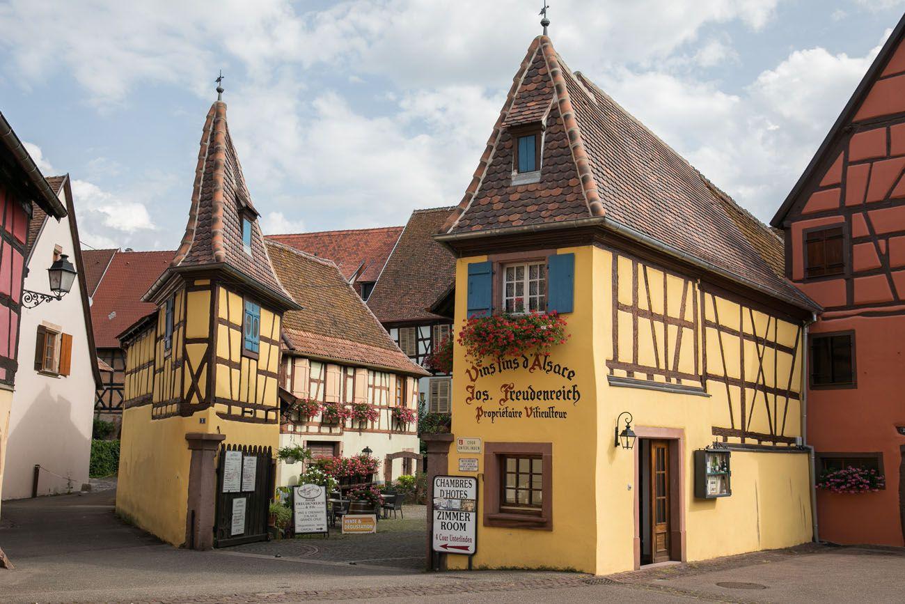 Visiting Eguisheim