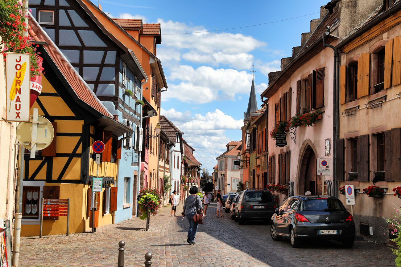 Bergheim France Alsace Wine Route