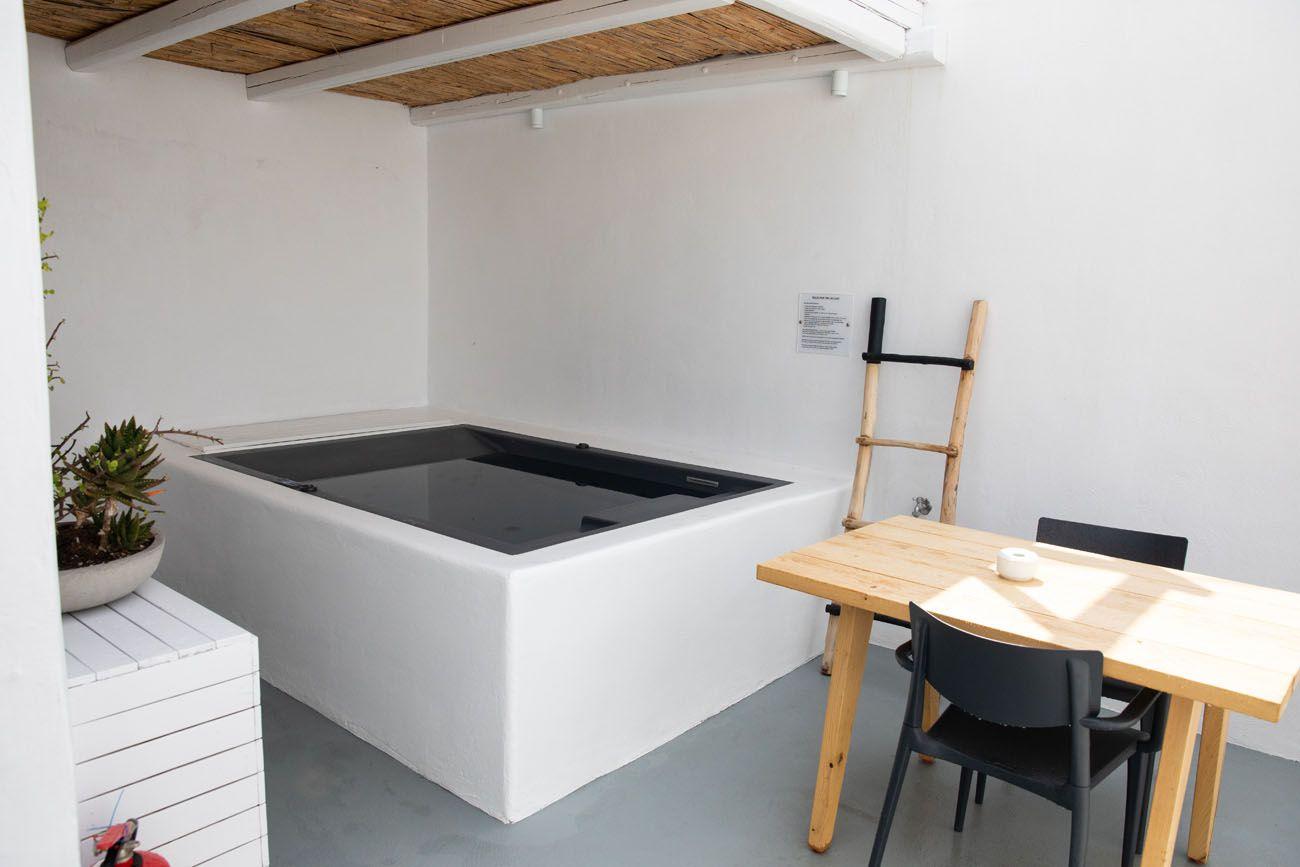Boho Suites hot tub