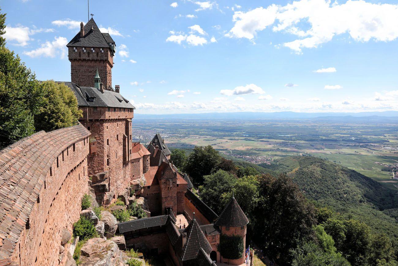 Chateau de Haut Koenigsburg Alsace Wine Route