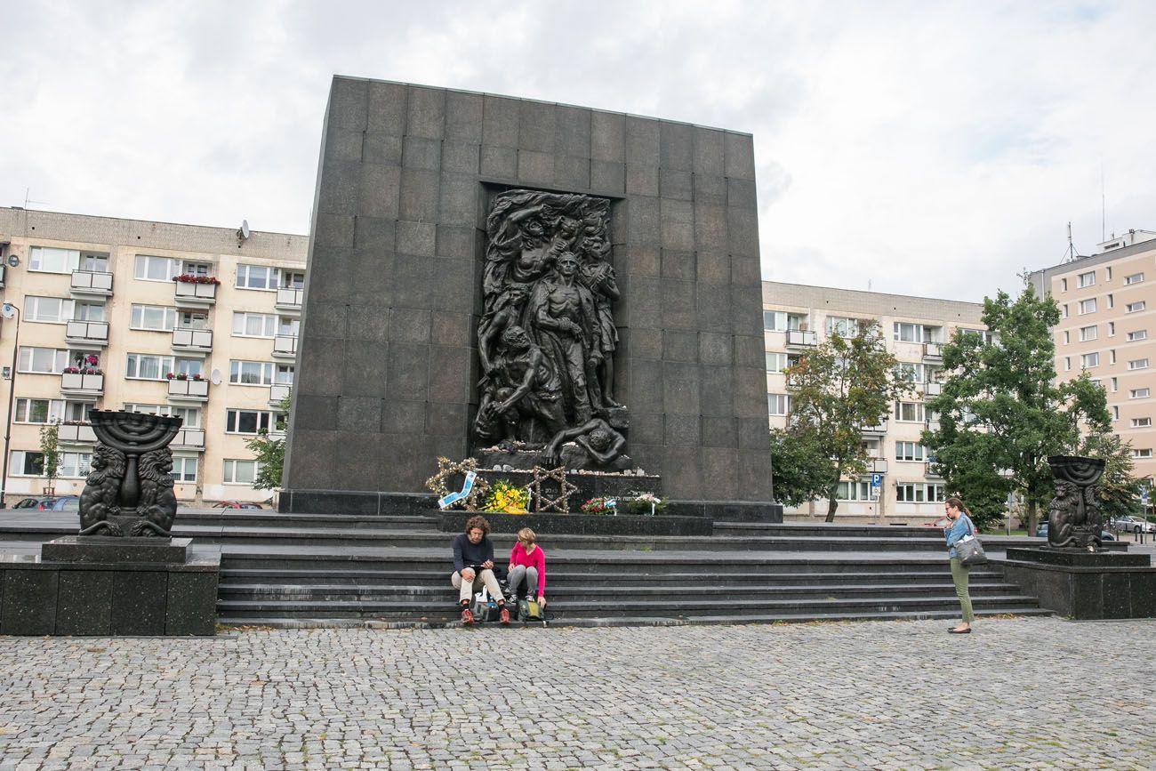 Ghetto-Monument.jpg.optimal ▷ 2 días en Varsovia: el itinerario perfecto para tu primera visita