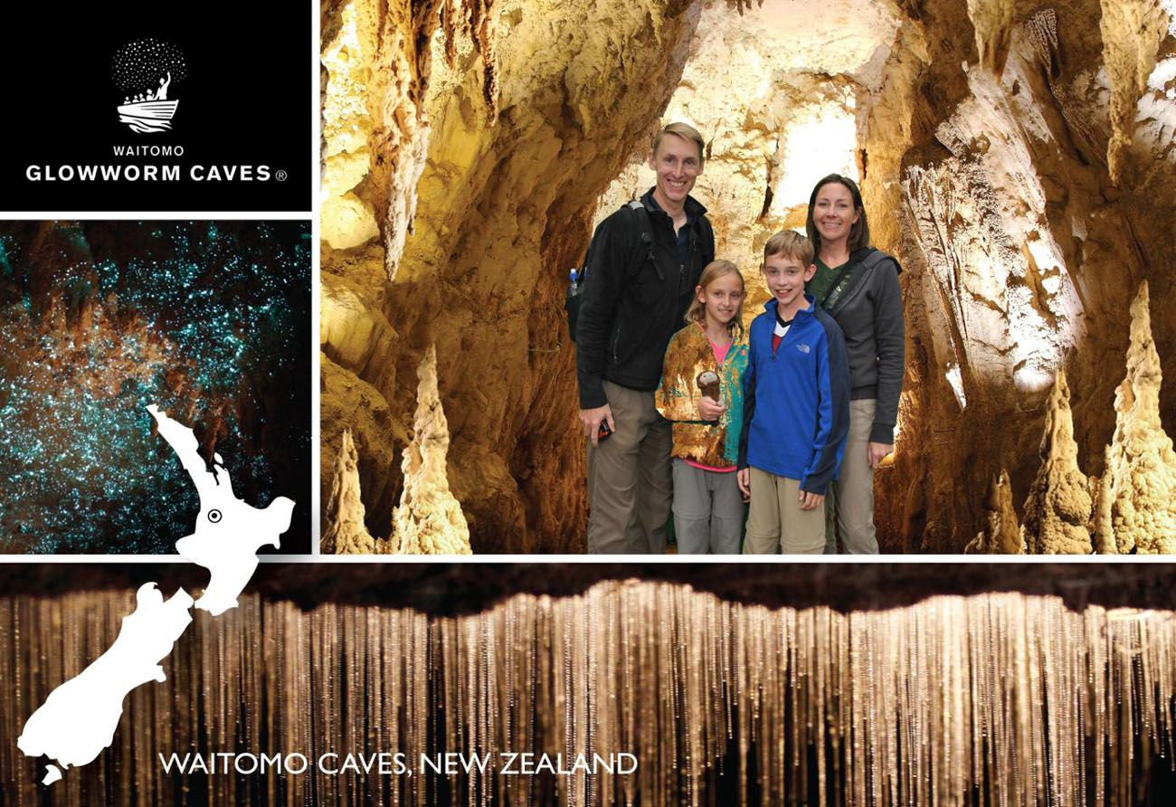 Glow Worm Caves Waitomo