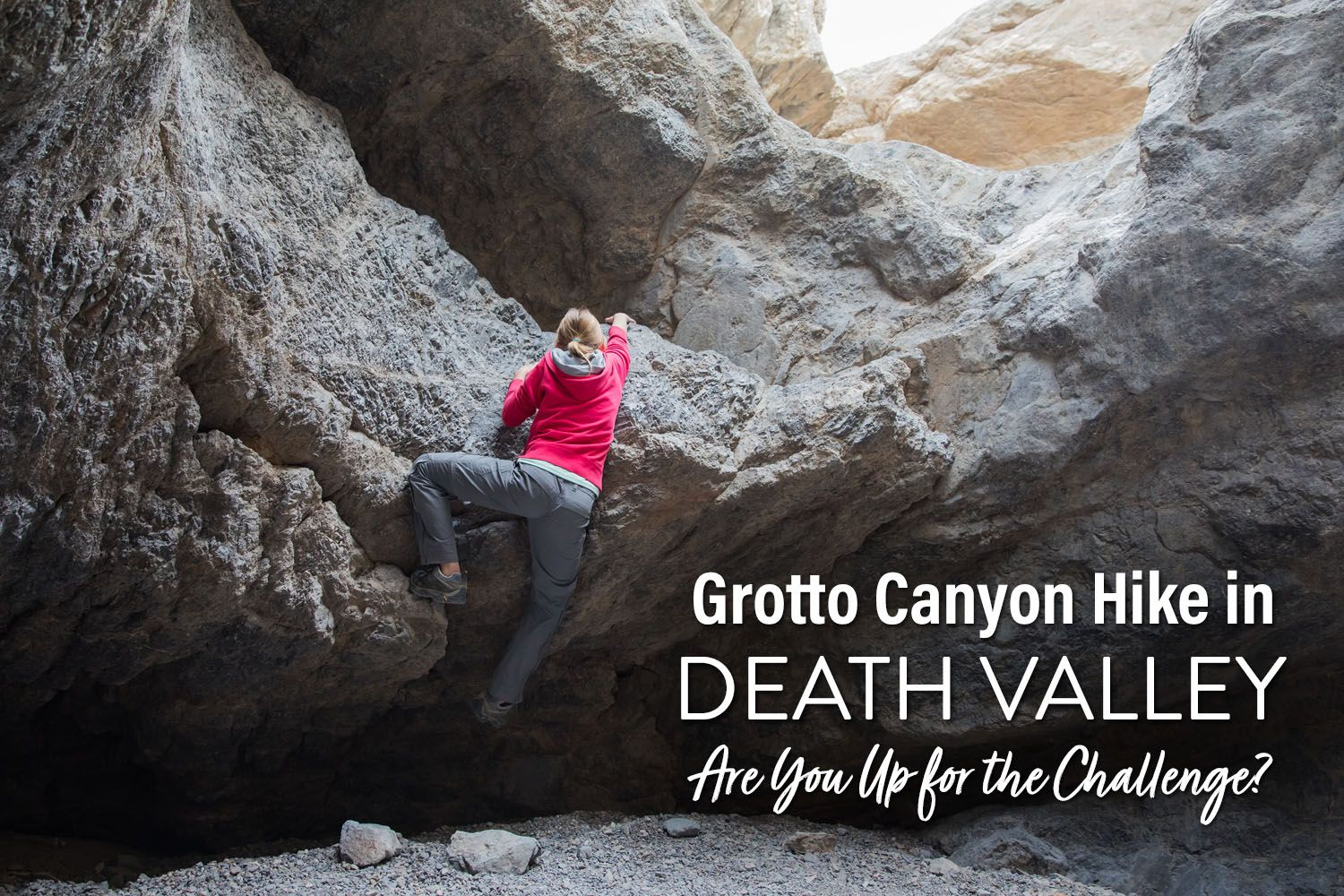 Grotto Canyon Hike Death Valley