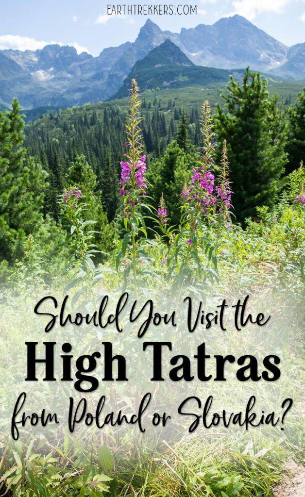 High Tatras Poland and Slovakia