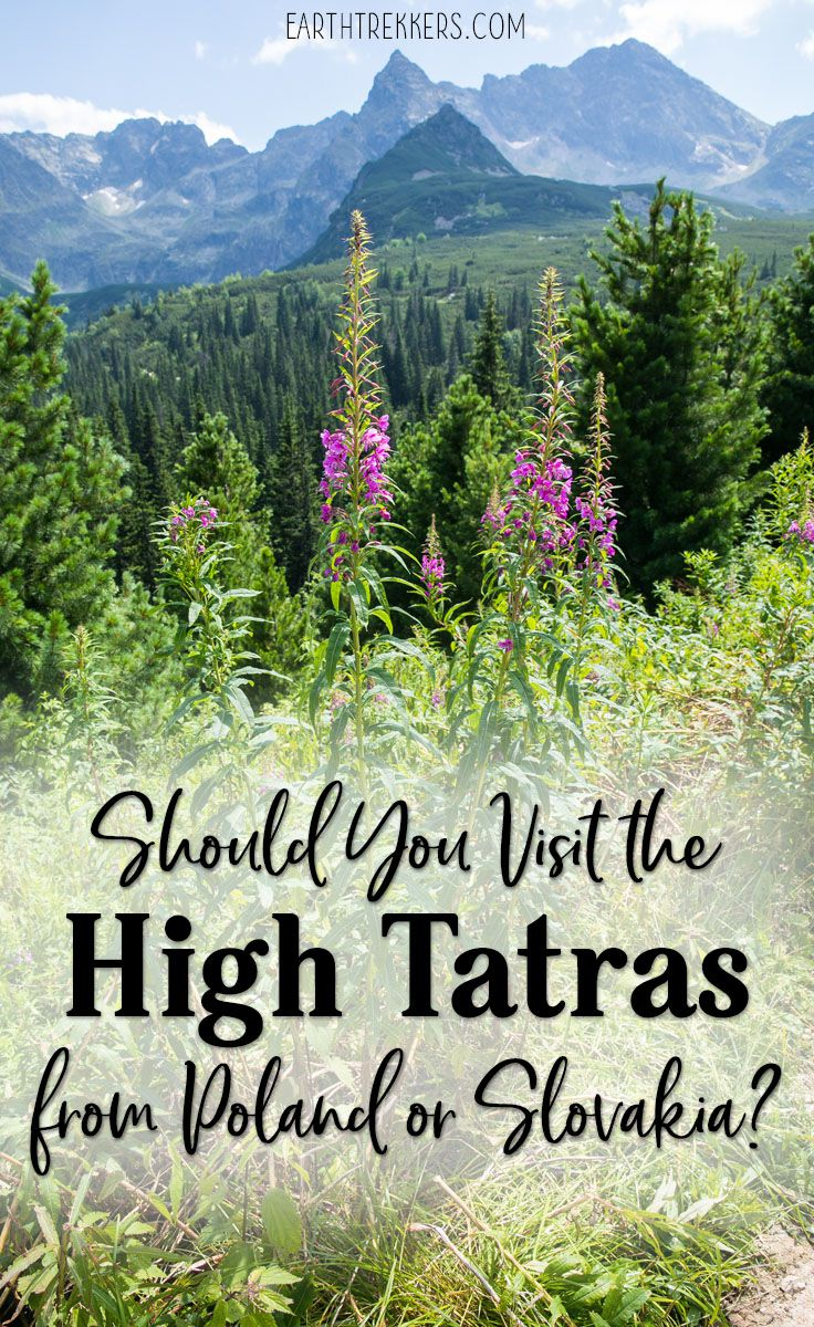 High Tatras Poland and Slovakia