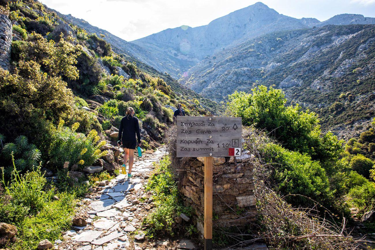 Hiking Mount Zeus