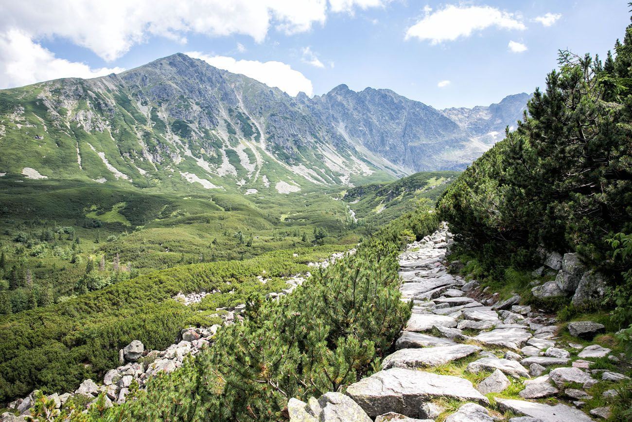 Hiking Trail Polish Tatras