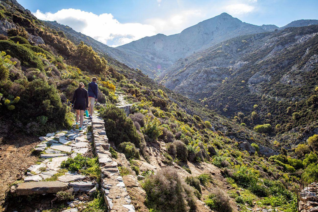 Hiking to Mount Zeus