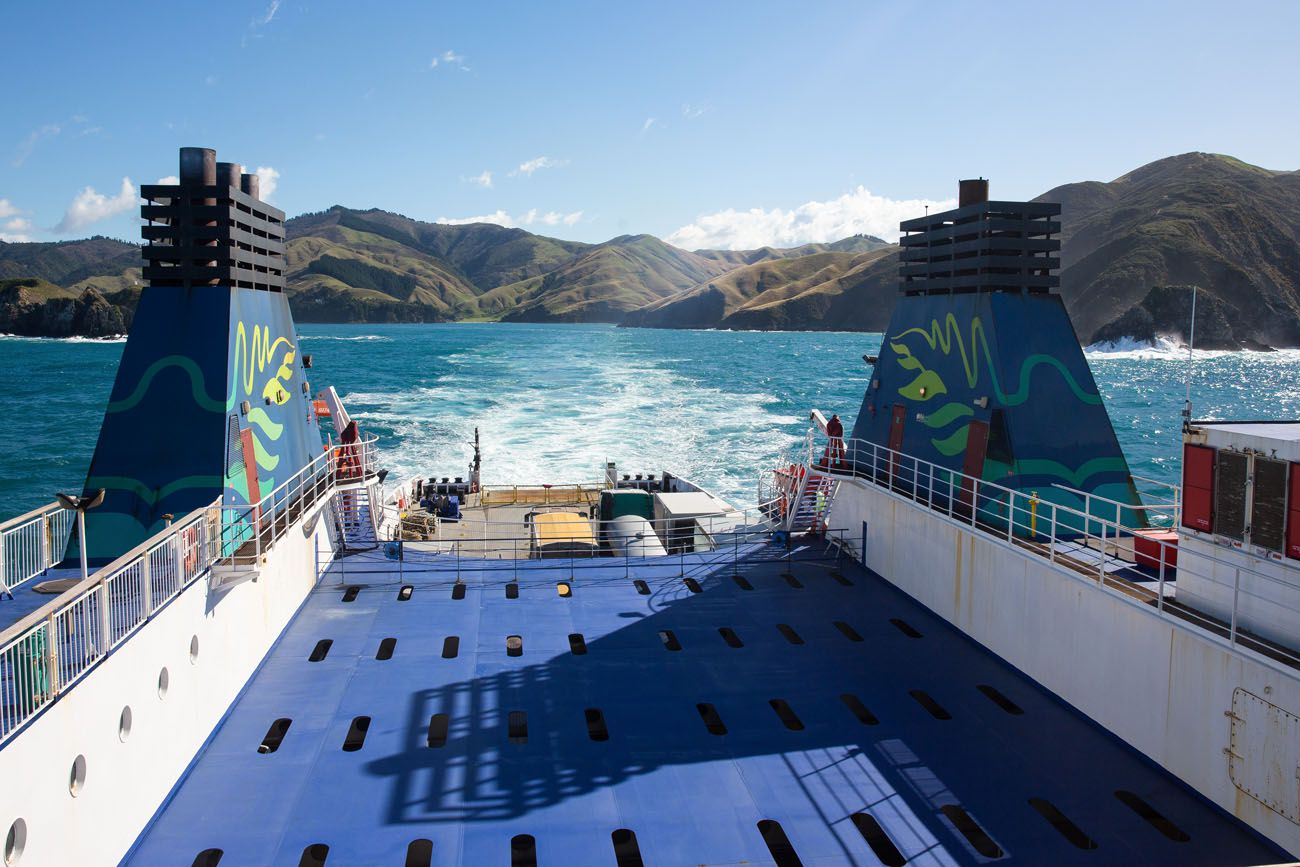 Interislander Ferry View
