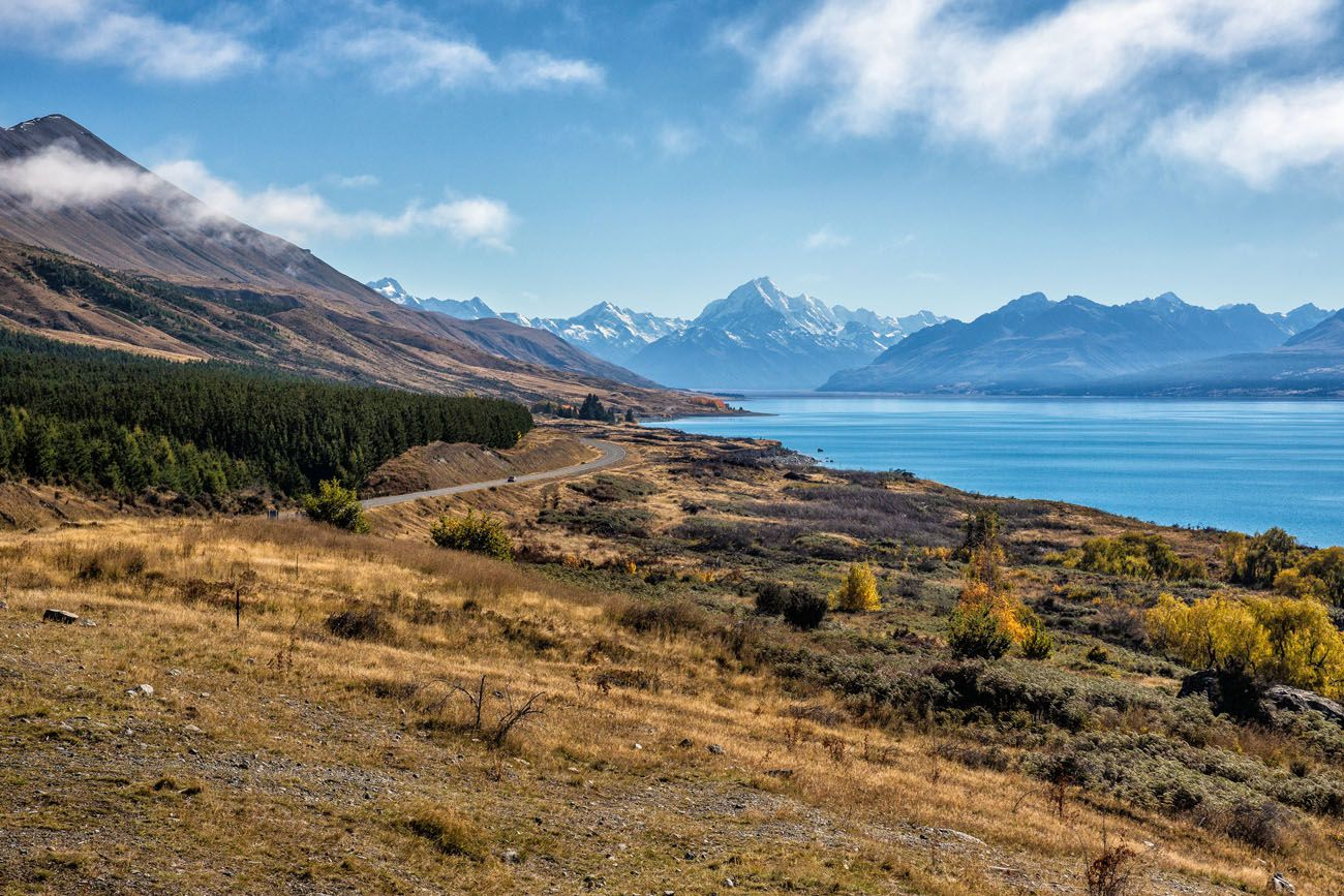 Lake Pukaki New Zealand itinerary