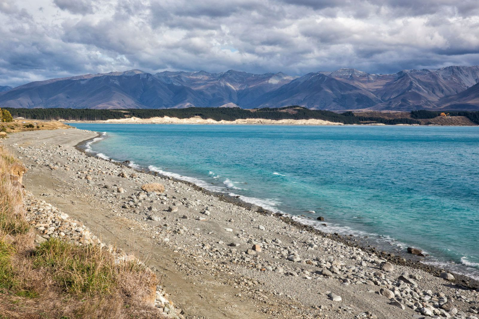 Lake Tekapo in April